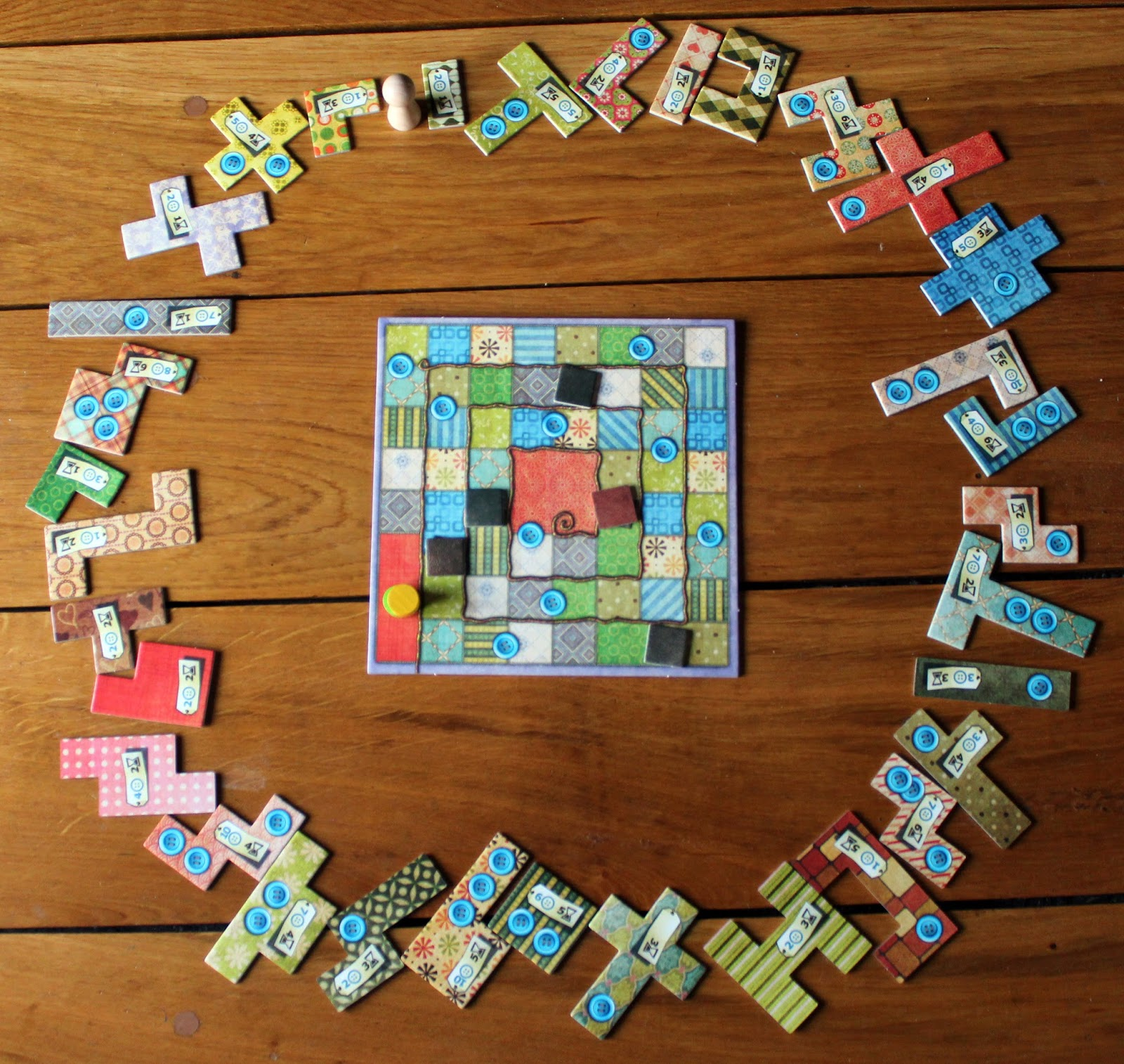 patchwork-board-game-setup